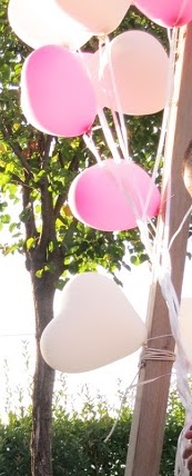palloncini come addobbi